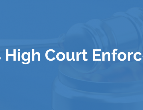 What is High Court Enforcement?
